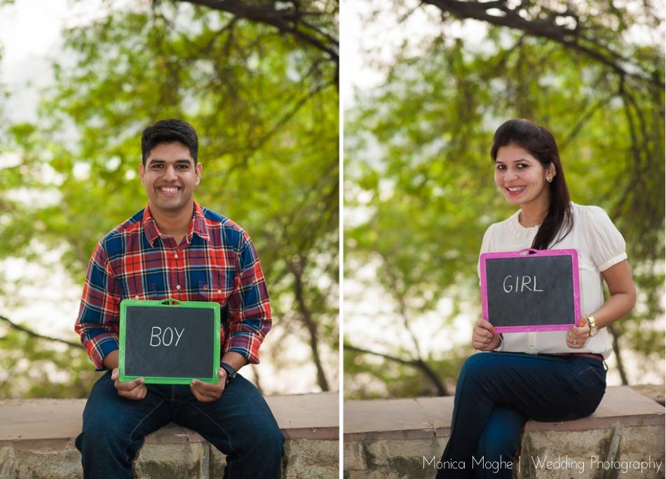 1 Shefali & Nikhil Save The Date Couple Shoot Delhi