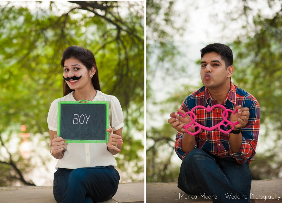 2 Shefali & Nikhil Save The Date Couple Shoot Delhi