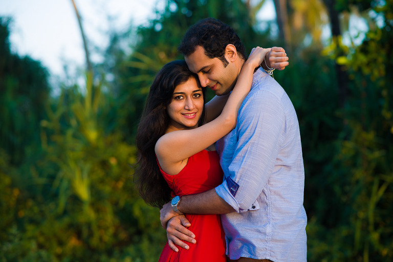 21(pp w768 h512) Eshita & Rutvan Couple Photo Shoot Goa