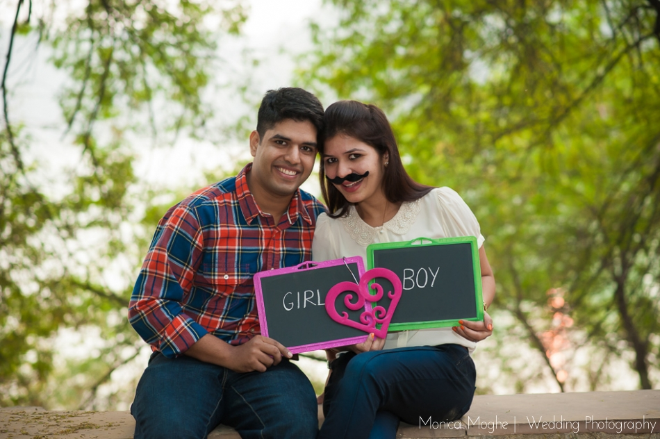 3 Shefali & Nikhil Save The Date Couple Shoot Delhi