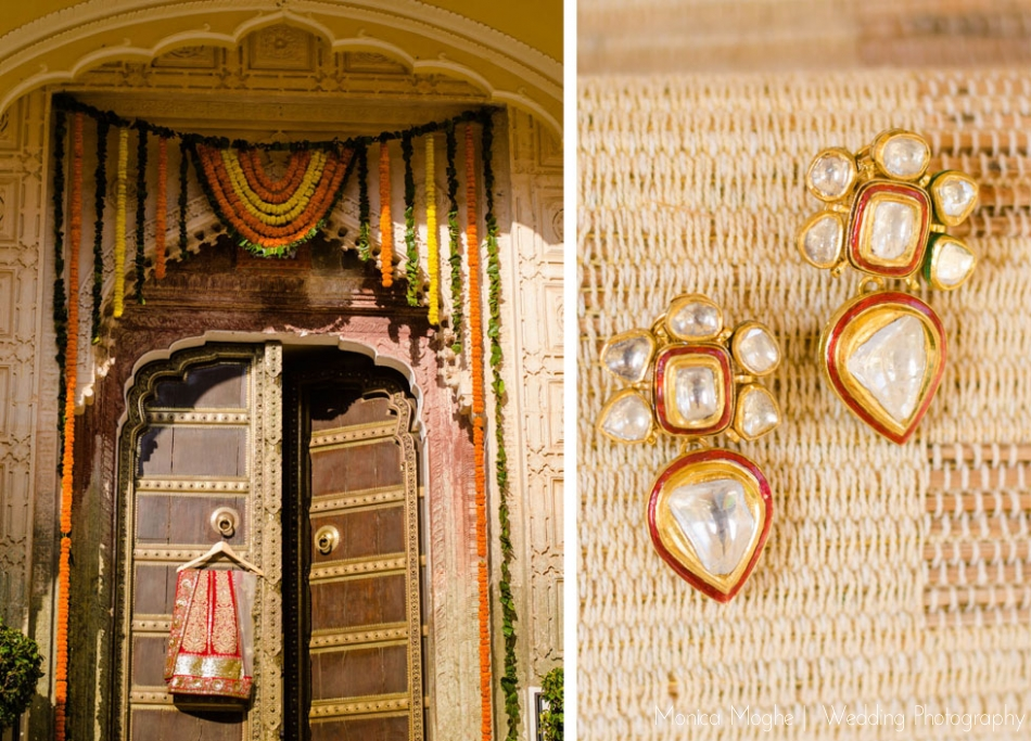 36 Sonali & Harry   Samode Palace, Jaipur