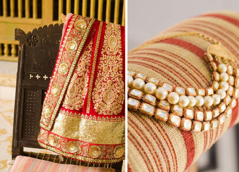 38(pp w768 h552) Sonali & Harry   Samode Palace, Jaipur