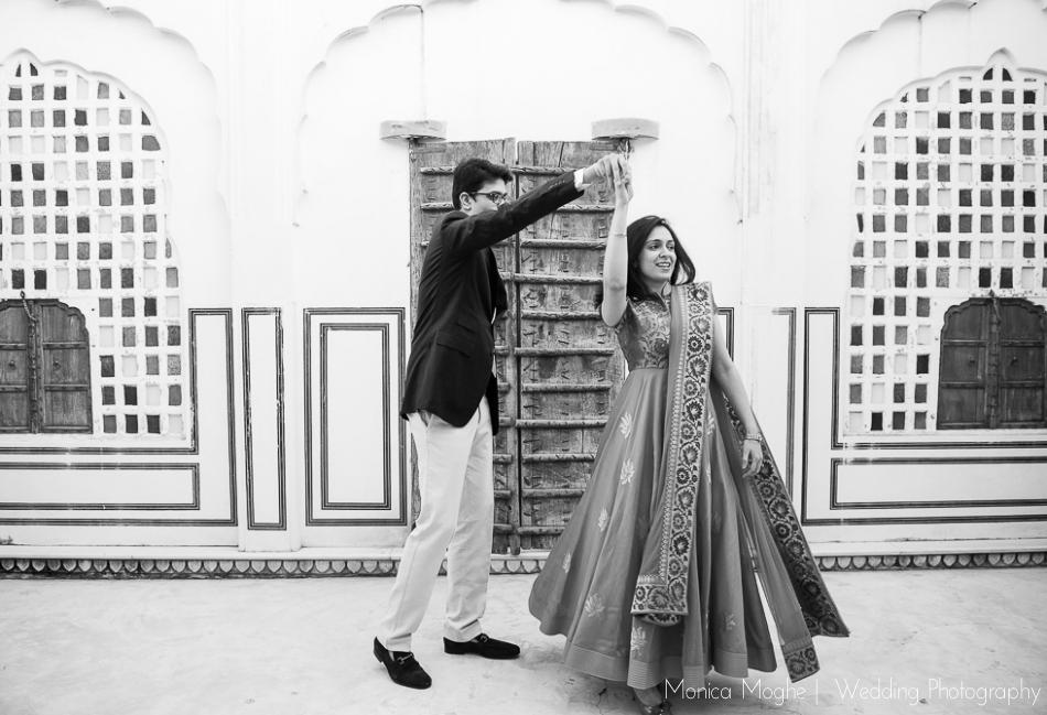 2 Tanvi & Aaditya   Samode Palace, Jaipur