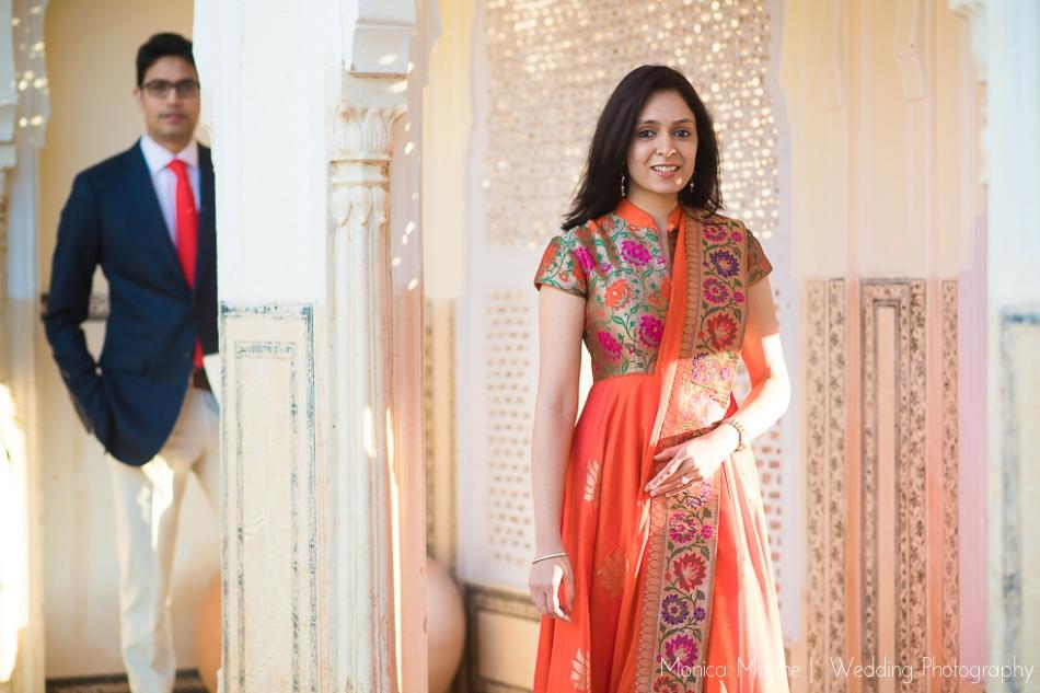 3 Tanvi & Aaditya   Samode Palace, Jaipur