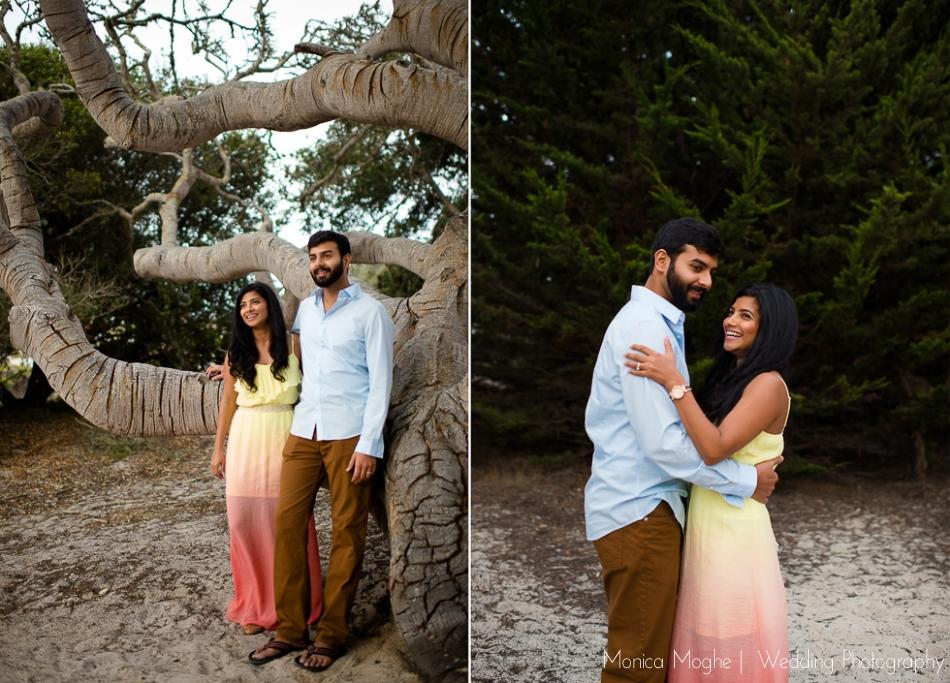1 Shivira & Prateek   Carmel Beach, California